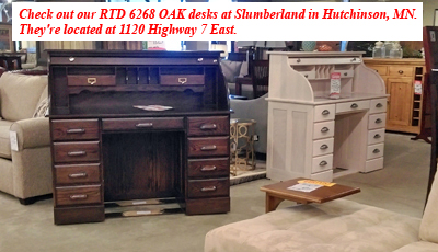 Look Over Our Selection Of Fine Hardwood Rolltop Desks Flattop File Cabinets Bookcases And Other Furnishings
